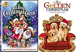 It's Been a Dog Gone Year, But Dogs Love Christmas - All Dogs Christmas Carol & A Golden Christmas: A Tail of Puppy Love 2-DVD Bundle