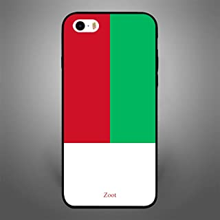 هاتف iPhone SE madacted car Flag