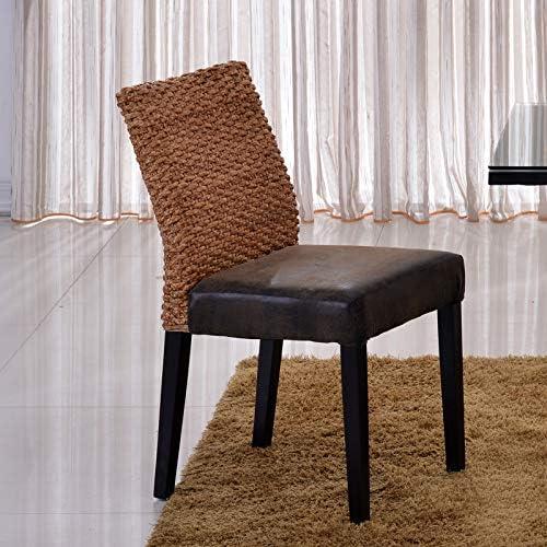 Freizeitstuhl,DASENLIN Stuhl, Single-Mode-Rattan-Sessel, Haushalt natürlichen handgefertigten Freizeit Korbstuhl (Einzelstück), HC314