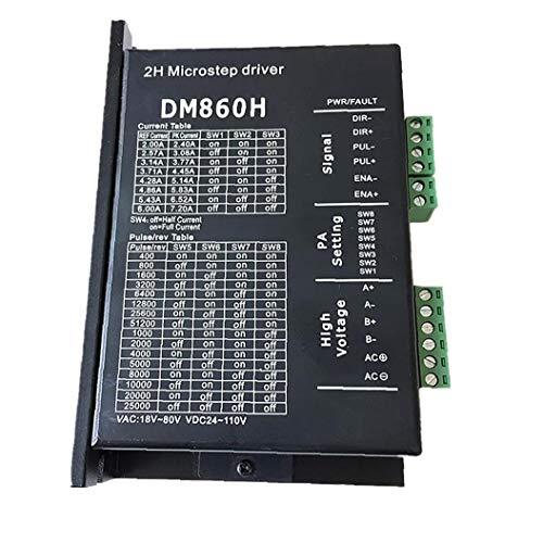 DM860H coppia elevata 2 trifase 18~80V o DC 24~110V ibridi conducente Nema34 motore passo a passo per CNC kit