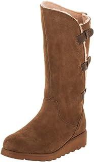 e926cc709f3 Bearpaw Womens Rubber Closed Toe Knee High Fashion Boots