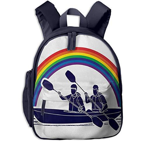 Kinderrucksack Kleinkind Jungen Mädchen Kindergartentasche Kanu 37 Backpack Schultasche Rucksack