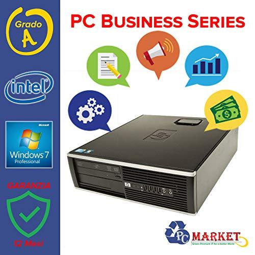HP Pc Desktop Fisso Ricondizionato 6000 pro 250 Gb Hard Disk 4 Gb Ram W7 Pro INTEL (Ricondizionato) )