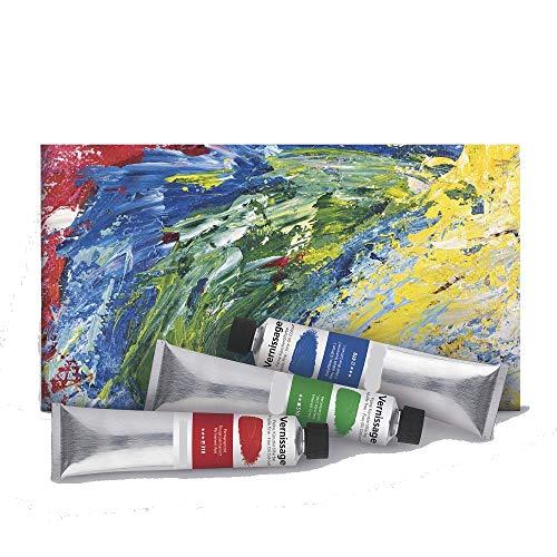 AGX Feine Künstlerölfarbe Vernissage, 200 ml Tube (Echtrot mittel)