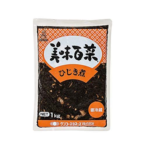 【冷蔵】ケンコーマヨネーズ 美味百菜 ひじき煮 1kg 業務用 惣菜 和食 煮物