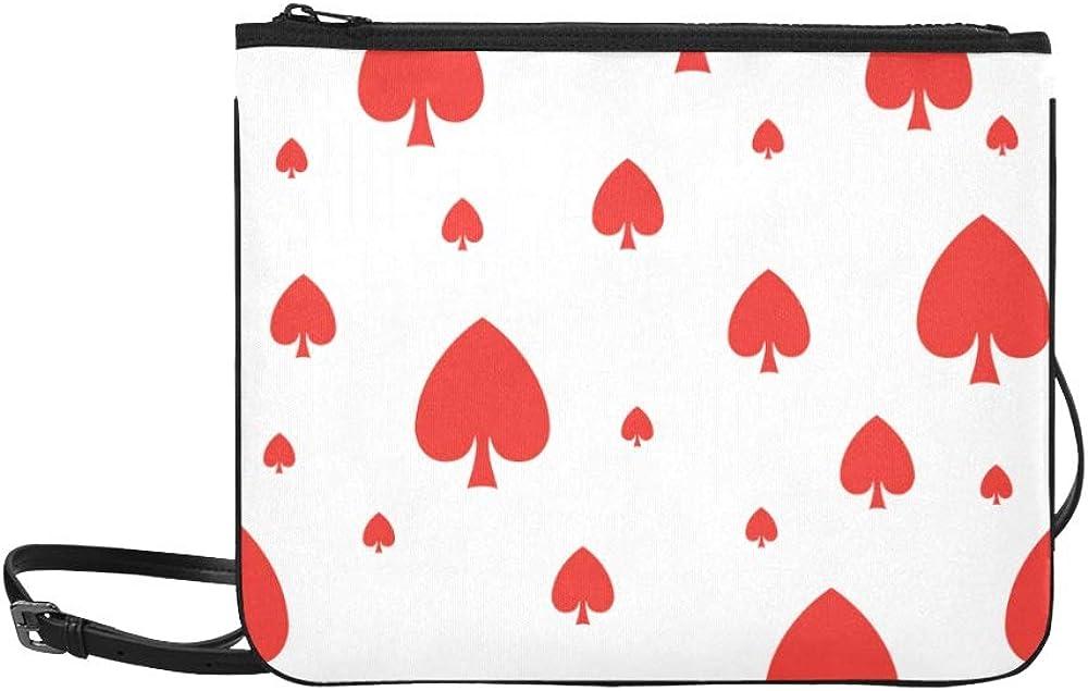 Handbag Bags Poker Paper Number Max 67% OFF Shoulder Adjustable SALENEW very popular! Strap Games