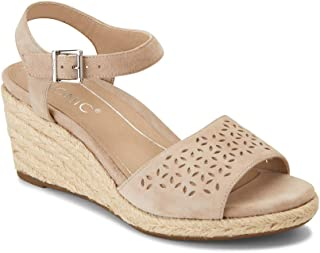 Vionic Women's Tulum Ariel Wedge Sandal - Ladies Sandals Concealed Orthotic Support