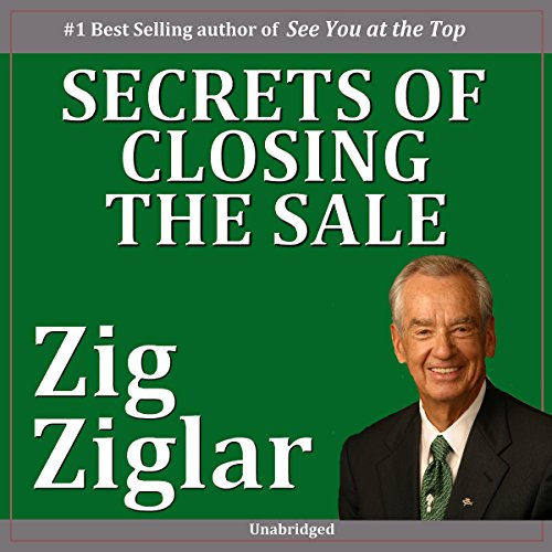 Secrets of Closing the Sale audiobook cover art
