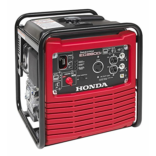 Honda Power Equipment EG2800IA 2800W 120V Full Frame Portable Inverter Gas Generator Steel