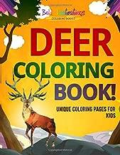Best deer colering pages Reviews
