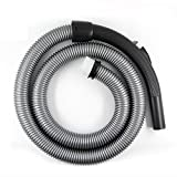 5.74' Extension Vacuum Hose with Handle Fit All 1 1/4' Vacuum Cleaner Hose Replacement Vacuum Attachement Vac Hose Kit 5.74 Feet Length