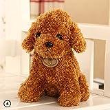 Teabelle Lindo Perro Peluche Juguetes de Perro Creativo Almohada muñeca Suave cojín Regalo 18 cm