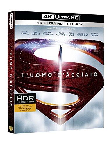 L' Uomo D'Acciaio (Blu-Ray 4K Ultra HD+Blu-Ray+Copia Digitale) [Blu-ray]