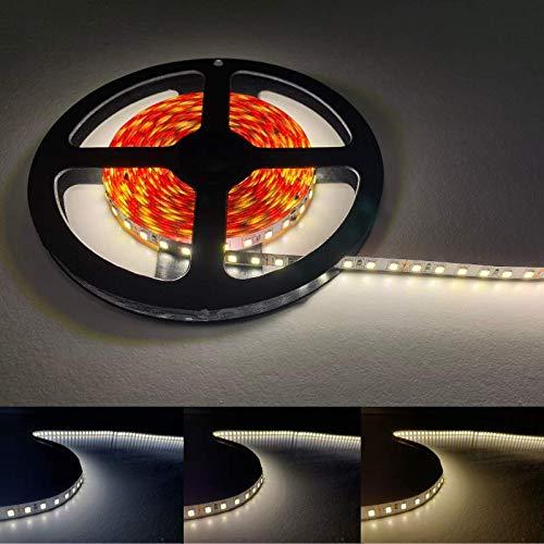 Ruban LED 5M 24V 2835 IP20 120LED/m - Blanc Froid 6000K - 8000K - SILAMP