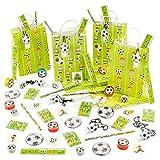 80 Piezas Juguetes de Fútbol y 10 Bolsas de Fiesta (8 Juguetes por Bolsa de Regalo) - Fiestas de Cumpleaños con...