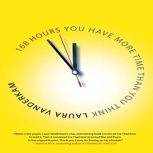 168 Hours audiobook cover art