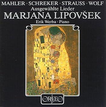 Mahle, Schreker, Strauss & Wolf: Lieder