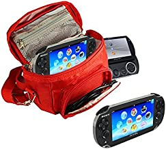 Orzly - Game & Console Travel Bag for Sony PSP Consoles (GO/VITA/1000/2000/3000) Has Special Compartments for Games & Acce...