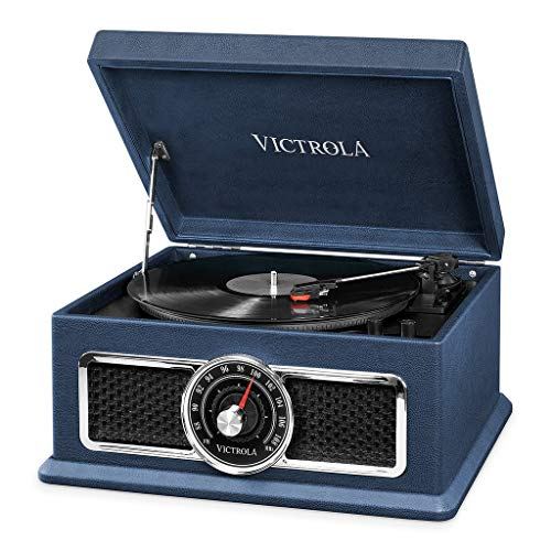 Victrola Plaza 4-in-1 Bluetooth platenspeler