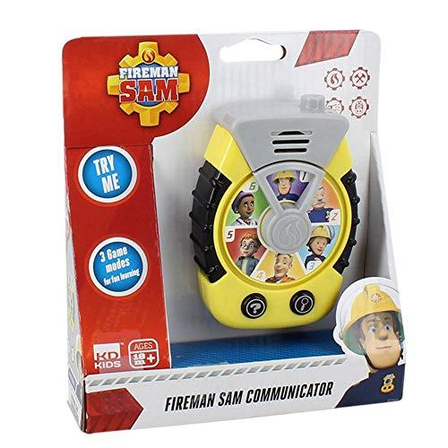 Fireman Sam S17920 Communicator, schwarz/gelb