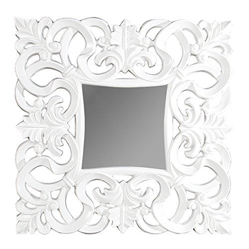 Opulenter Barock Spiegel VENICE weiss antik Wandspiegel