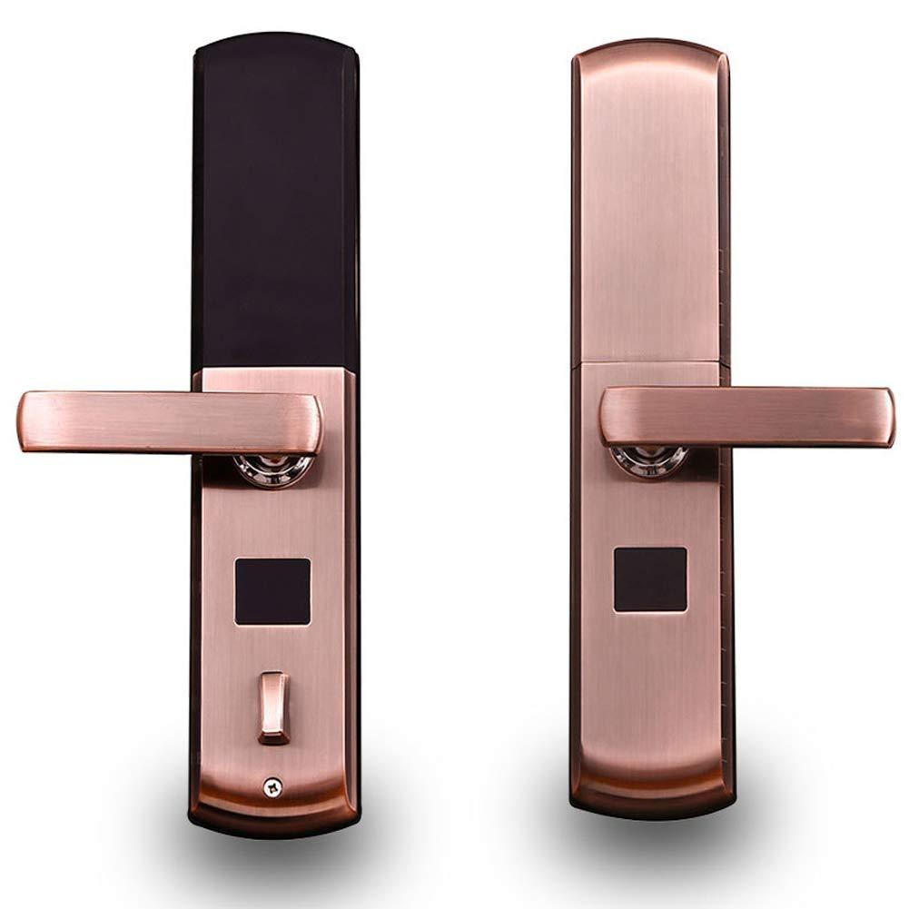 HENRYY - Cerradura de Seguridad para Puerta corredera de Interior (Cerradura electrónica, con Huella Dactilar): Amazon.es: Hogar
