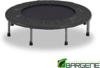 40 Inch Mini Trampoline Jogger Rebounder Home Gym Workout Fitness Outdoor Indoor BlaCK
