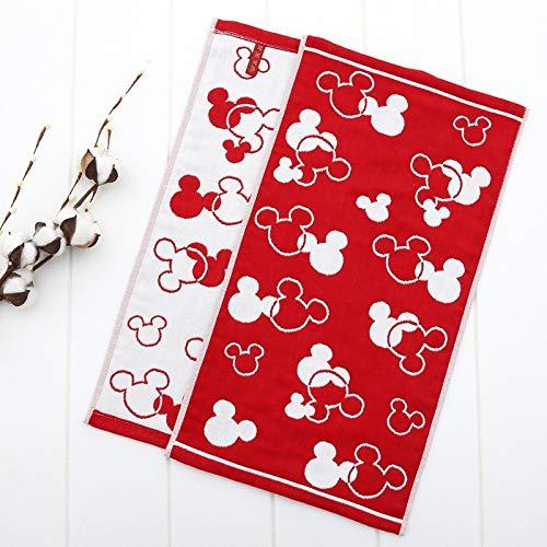 Toalla Toalla De Gasa De Mickey Minnie De Dibujos Animados De Algodón, Toalla De Lavado para Bebé, Niño Y Niña