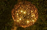 Willowbrite WB12GLOBE 12' Natural Willow Branch Globe Filled with LEDs, Warm White