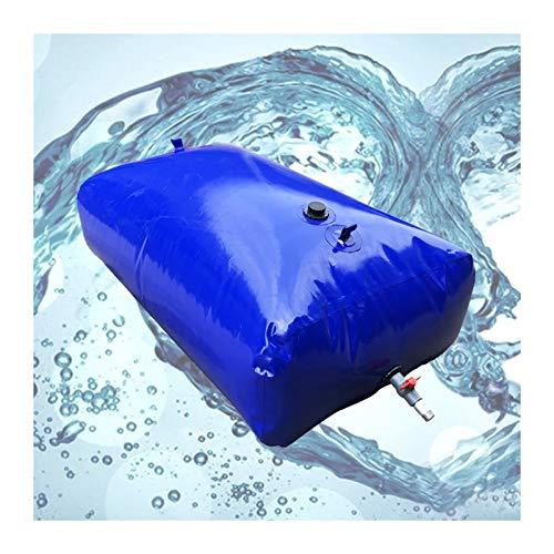 Almacenamiento de agua Recipiente Acampar Vejiga De Agua De Gran Capacidad PVC De Calidad Sin BPA Plegable Patio Al Aire Libre Tamaño Personalizado ZLINFE (Size : 1000L/1.5x1x0.7M)