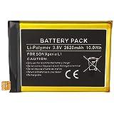 Batterie Lithium-polymère pour Sony Xperia L1, 3,8 V, 2620 mAh, 10,0 Wh, intégrée, sans Outils