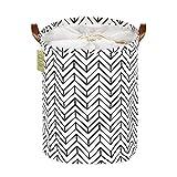 MELLIEX Wäschekorb, Faltbarer Wäschesammler mit Kordelzug Wäschekorb für Kleidung, Spielzeug, Wäsche (40x 50 cm)