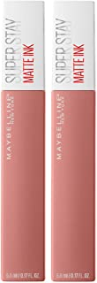 Maybelline SuperStay Matte Ink Liquid Lipstick, Loyalist, Pack of 2