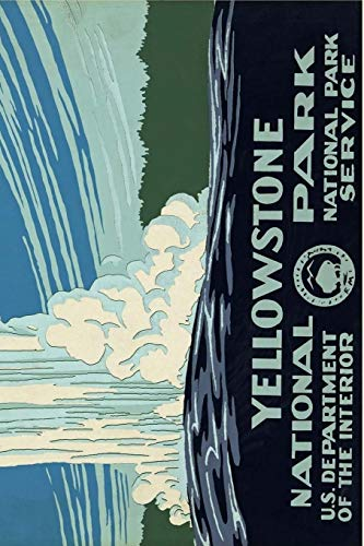 Yellowstone National Park: 150 pages lined notebook