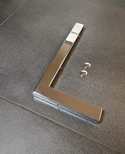 1x Chrom Wandhalterung 30cm Waschtischplatte Regalträger Konsolenhalterung Wandkonsole Konsolenträger