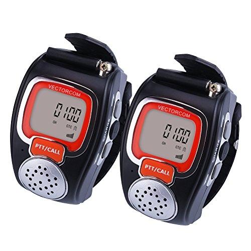 VECTORCOM RD08 Portable Digital Wrist Watch Walkie Talkie Two-Way Radio