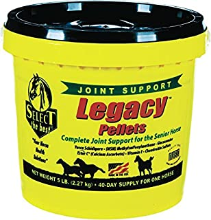 RICHDEL 784299540507 Legacy Pellets Joint Support for Senior Horses, 5 lb