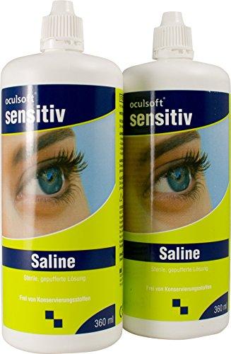 Oculsoft Sensitiv Saline 2x 360 ml
