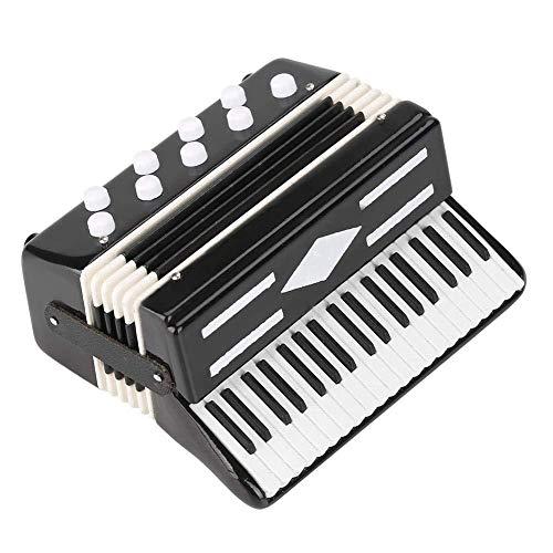 Alano Mini instrumento de música acordeón réplica instrumento musical decoración regalo musical