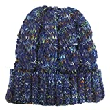 Farbe Wool Cap Warm Warm Urinal Cap Weiche Elastische Strickmütze 21 * 21Cm Caiqing