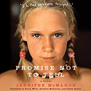 Promise Not to Tell audiobook cover art