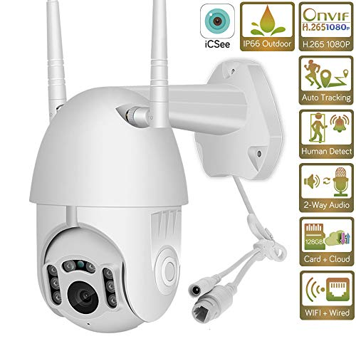 ZY HD 1080P WiFi Mini PTZ IP-camera Outdoor Wireless Speed Dome CCTV Security Camera Onvif 2 MP IR Home bewakingscamera P2P 1080P-2A
