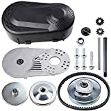 212CC Torque Converter 6.5 HP 3/4' Go Kart Mini Bike Comet Clutch 10T 40/41 and 12T 35 Chain Predator Driver Pulley Replacement Set - 30 Series