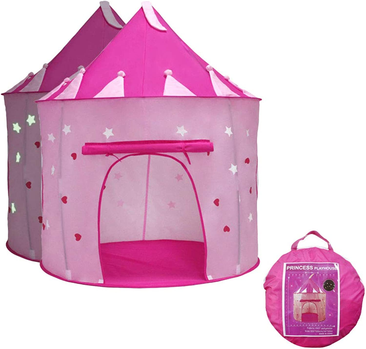 Princess Fairy Play Tent for Girls , Kids Tent for Indoor Play (Pink)