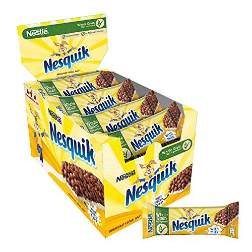Nesquik Milk Choco Barretta Di Cereali Con Cacao E Latte 16 Pezzi - 400 g