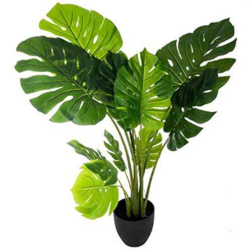 Paris Prix Atmosphera Créateur d'intérieur - Plante Artificielle en Pot Philodendron 110cm Vert