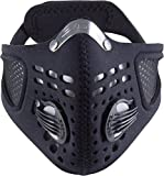 Respro Sportsta Anti-Pollution Mask - X-Large - Black