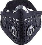 Respro Sportsta Mask Black - XL (95g, GBP 37.99)