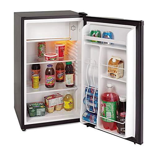 Avanti AVARM3316B Refrigerators, Bins, Space Saving, CFC Free, Energy Star, 3.3 cubic feet Chiller,Black