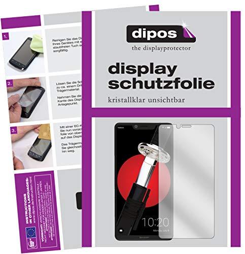 dipos I 6X Schutzfolie klar kompatibel mit Sharp Aquos D10 Folie Bildschirmschutzfolie